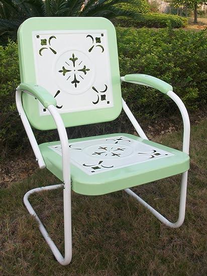 Merveilleux 4D Concepts 71340 Metal Retro Chair