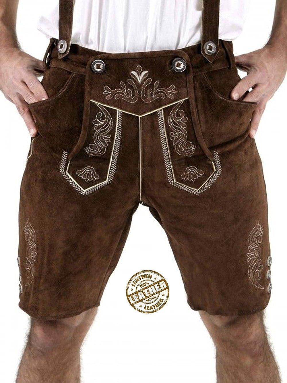 Leather Craft - Pantalón corto - para hombre