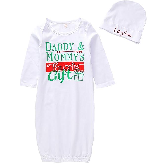 Amazon.com: HappyMA Infant Baby Girl Boy Sleepwear Daddy & Mommy\'s ...