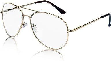 Sunny Pro Clear Aviator Glasses