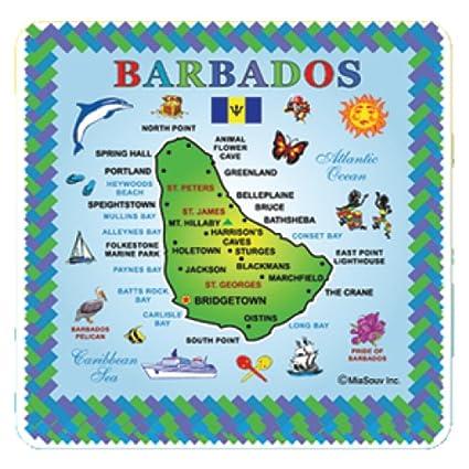 Amazon.com: Tile Barbados Souvenir 6