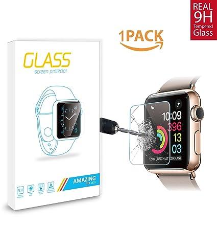 e8fcad05d16 Pelicula Vidro Temperado Blindado P Relogio Apple Watch 38mm  Amazon ...