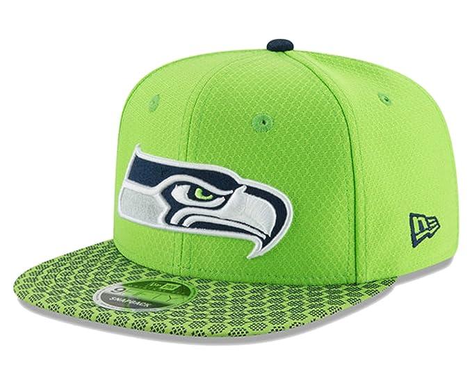 48a92d2c Amazon.com : Seattle Seahawks New Era Sideline Snapback Hat Cap ...