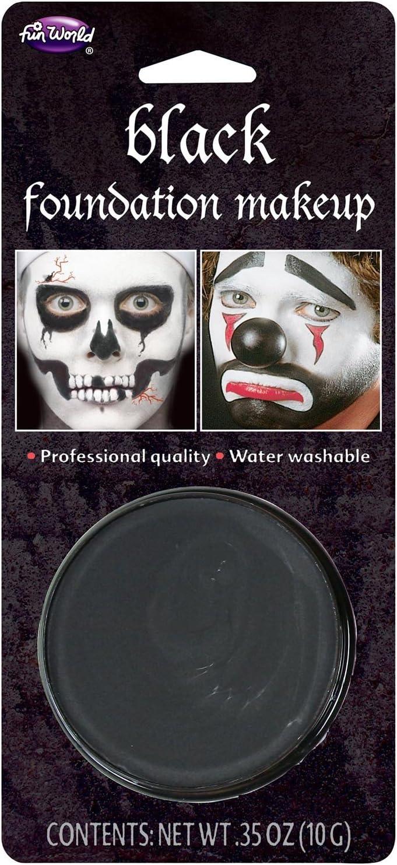 /10gm Pack Halloween Face Paint Black Makeup/