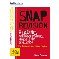 Leckie & Leckie Snap Revision – N5/Higher English: Reading for Understanding, Analysis and Evaluation