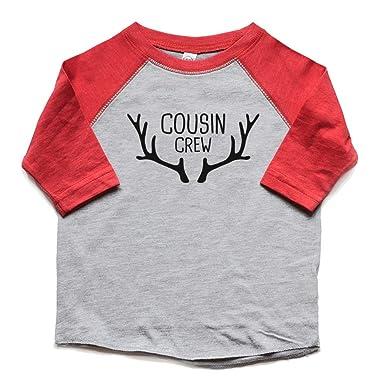 3a375bdf8 Heads up shirt designs Cousin Crew Shirts Boy or Girl - Christmas Raglan t  Shirts Kids