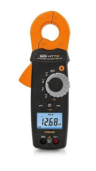 HT-Instruments HT79 TRMS - Tenazas de corriente a partir de 0,1 mA ...