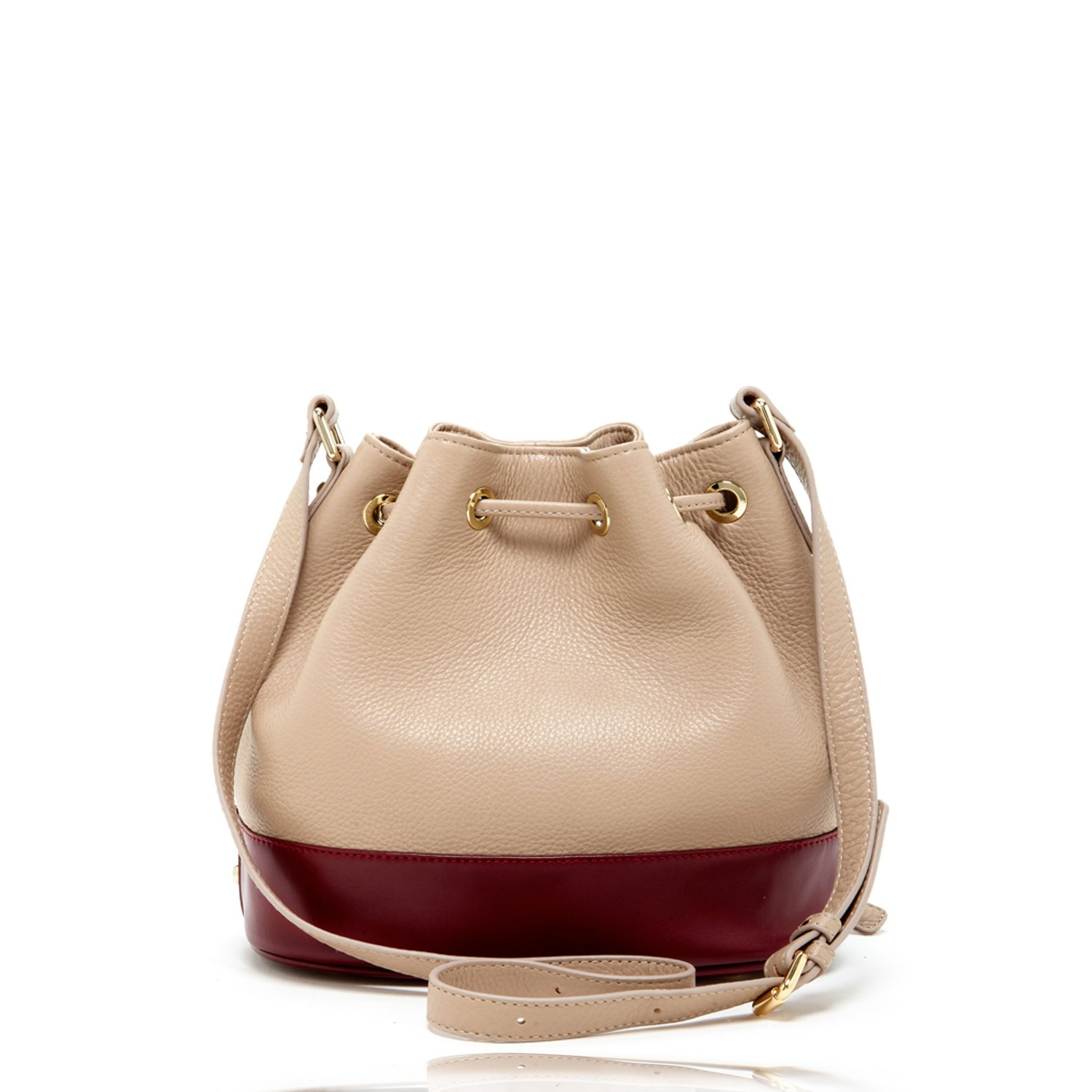 Tan Bucket Purse Beige Leather Crossbody Bags For Women Taupe Crossover  Drawstring Purses and Handbags For Travel Nude Designer Pocketbooks Cream Cross  body ... 2cf1312643e20