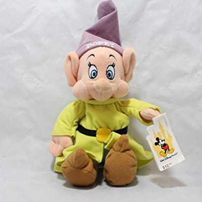 Dopey Dwarf Bean Bag Plush - 10 Inches: Toys & Games