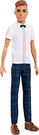 Barbie Ken Fashionistas Doll 117, Slick Plaid