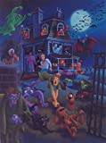 Scooby-Doo and Gang in House Swarming Ltd Print