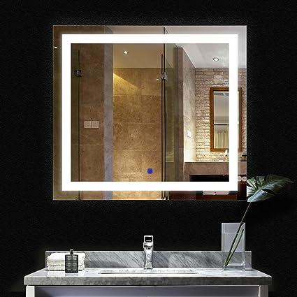 Charmant BATH KNOT ETL LED Wall Mounted Backlit Mirror With Lights Bathroom Led Light  Make Up