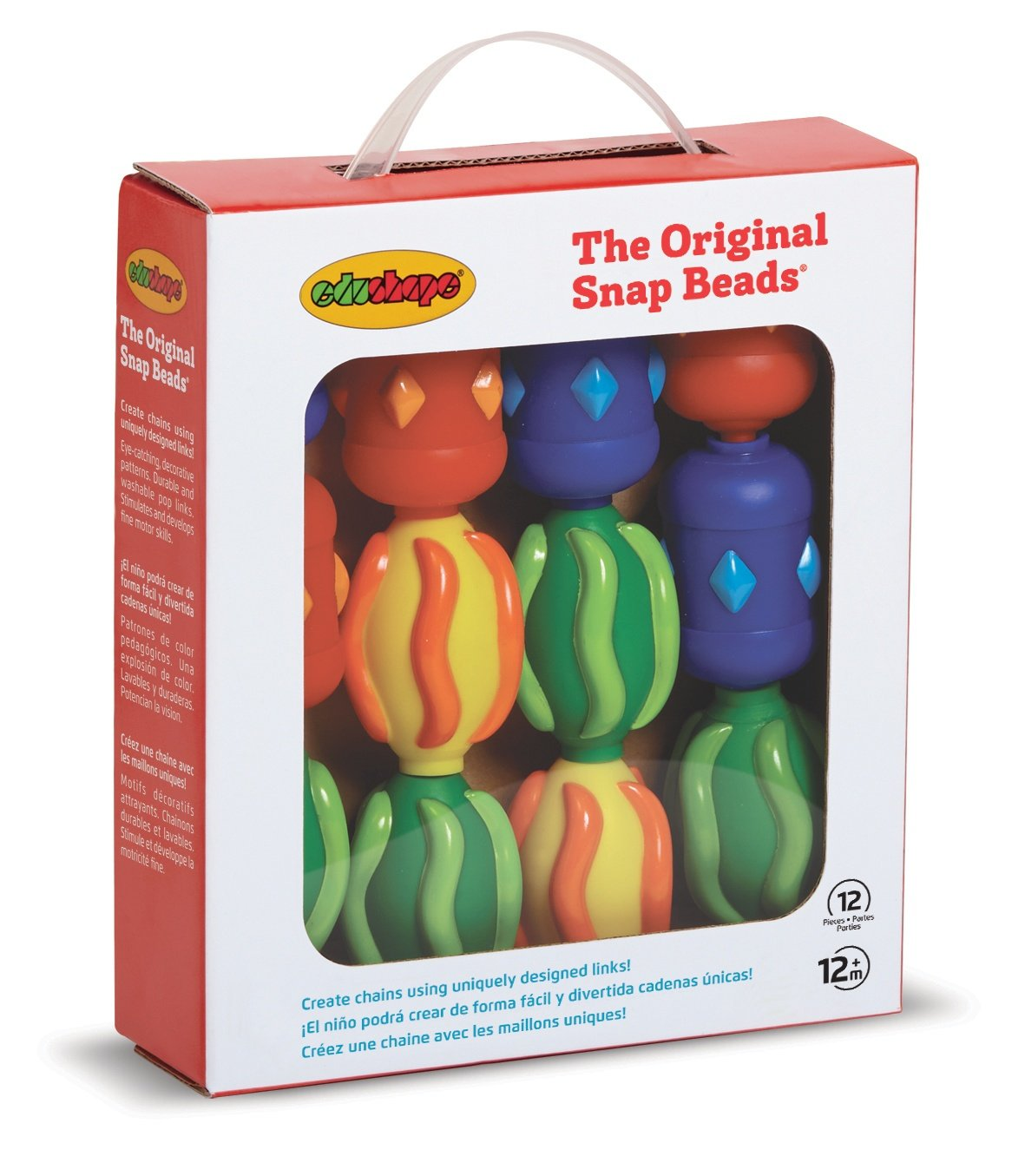 Edushape Original Snap Beads Box 995012