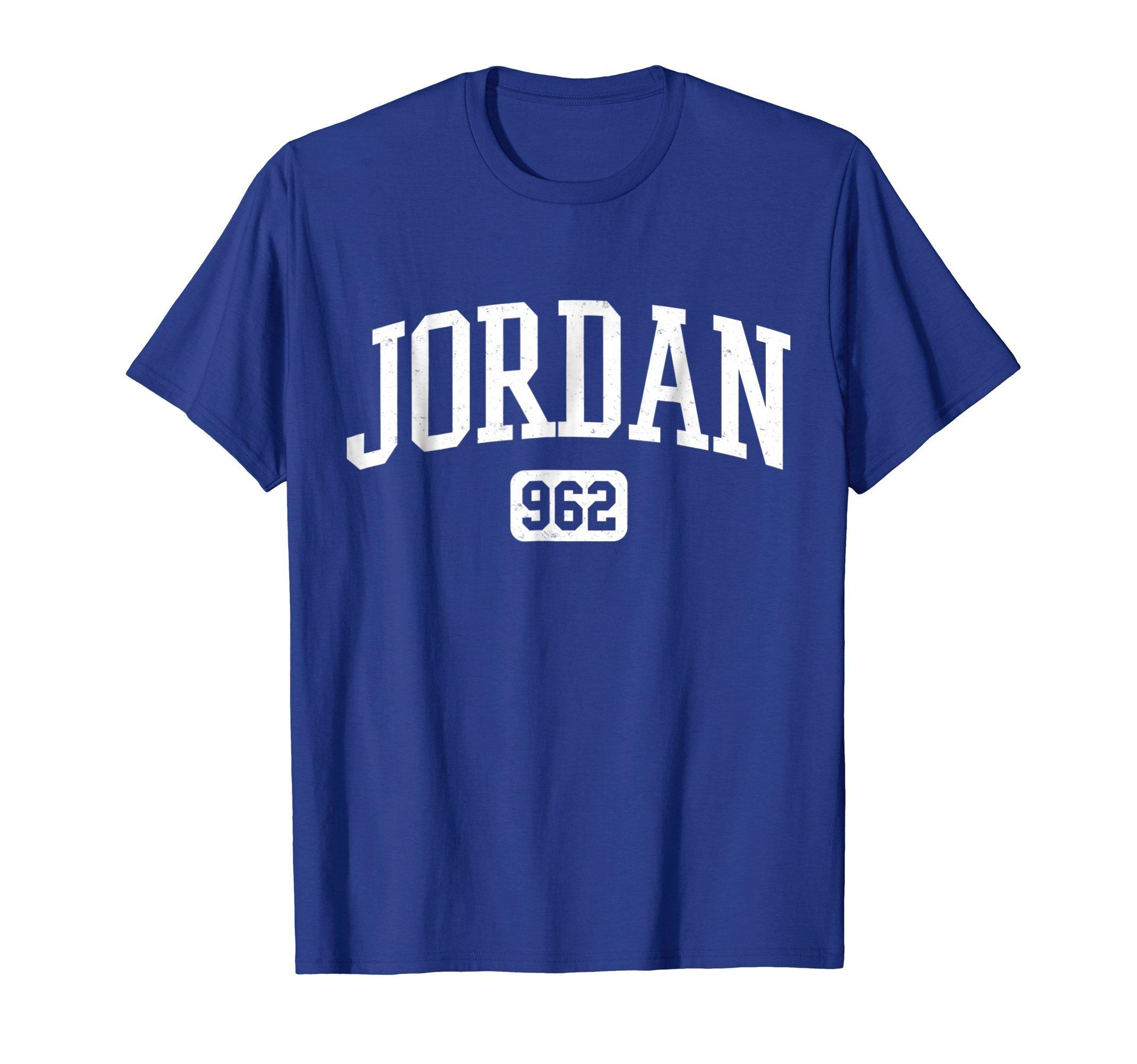 Mens 962 Country Area Code Jordan Jordanian Pride T-Shirt Medium Royal Blue