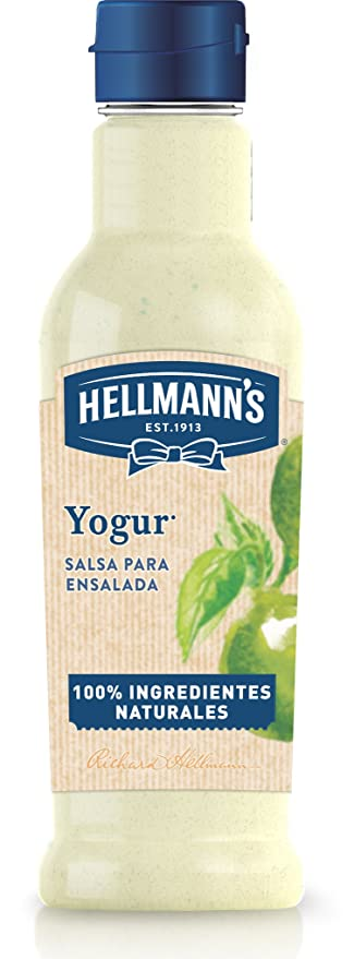 HellmannS Salsa para Ensaladas Miel y Mostaza - Paquete de 8 x 210 ml: Total: 1680 ml: Amazon.es: Alimentación y bebidas