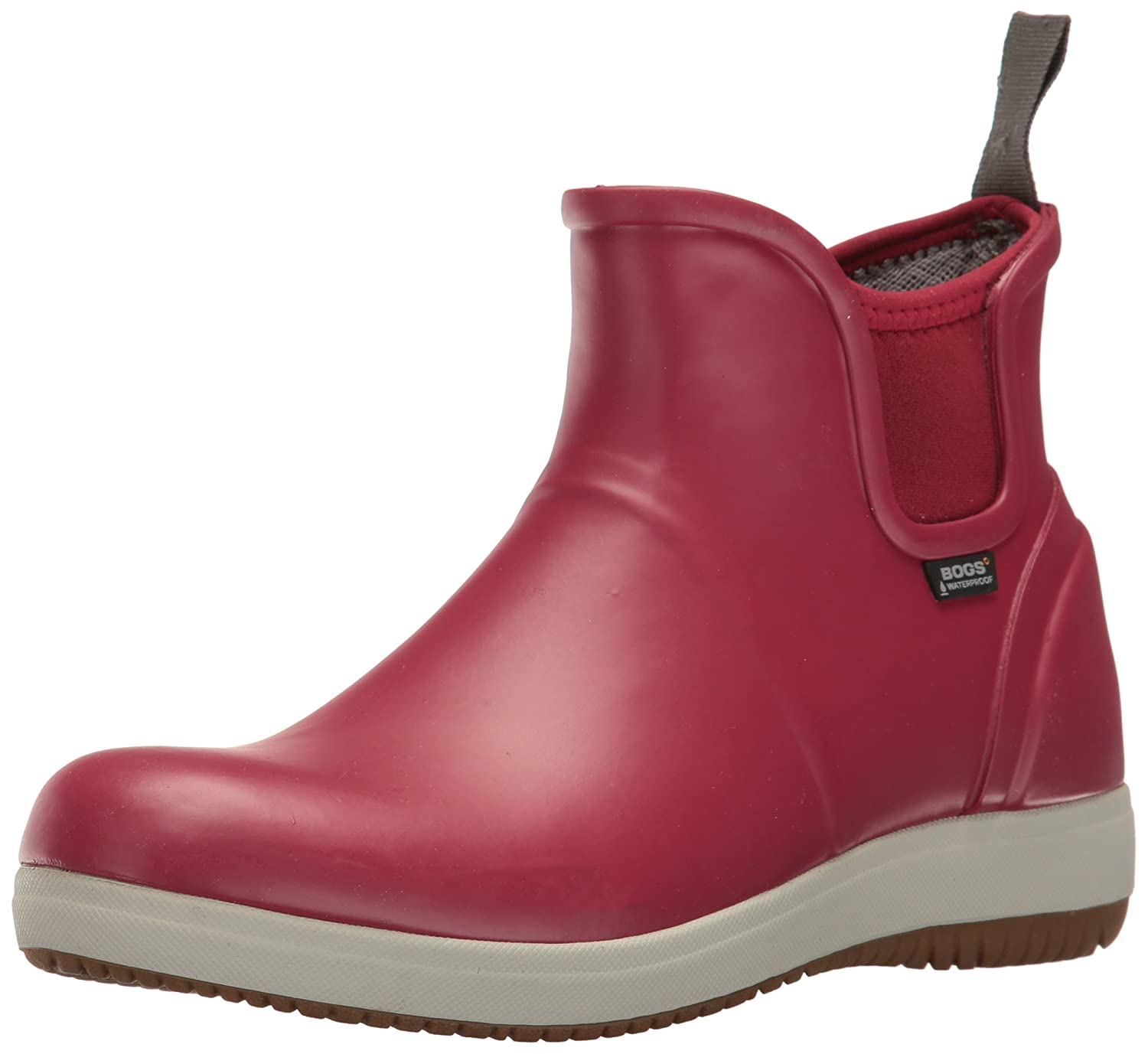 Bogs Women's Quinn Slip on Rain Boot B01J6OZHEO 7 B(M) US|Brick