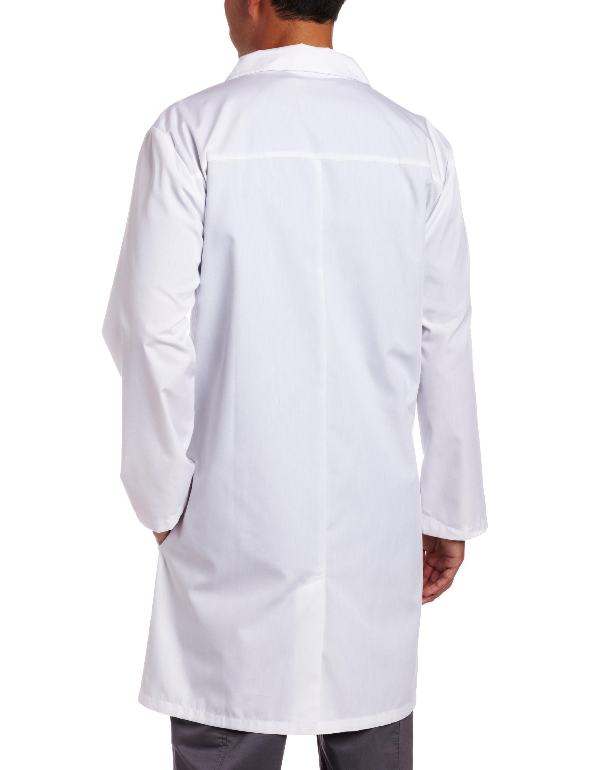 Dickies Big & Tall Unisex 40 Inch Lab Coat,White,5X-Large by Dickies (Image #2)