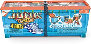 HEXBUG JUNKBOTS - Industrial Dumpster Assortment Kit - Surprise Toys in Every Box LOL with Boys and Girls - Alien Powered Toys for Kids - 50+ Pieces of Action Construction Figures - for Ages 5 and Up