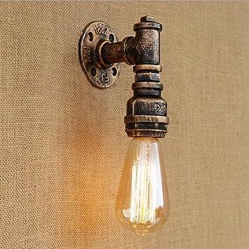 Amazon.com: Wall Lamps Retro Wall Creative Wall Lamp Indoor Wall ...