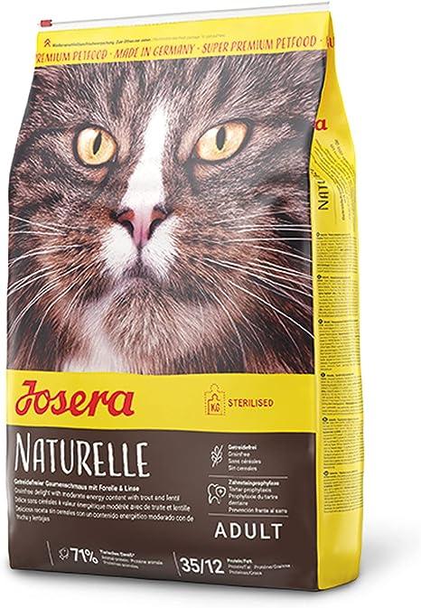JOSERA Naturelle: Con Ave de Corral Y Trucha para Gatos