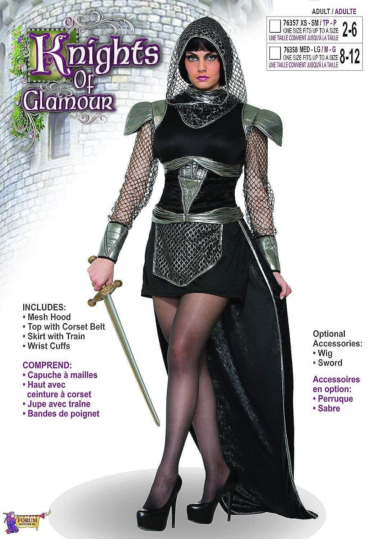 6794bbea97c Amazon.com  Forum Women s Knight of Glamour Costume  Toys   Games