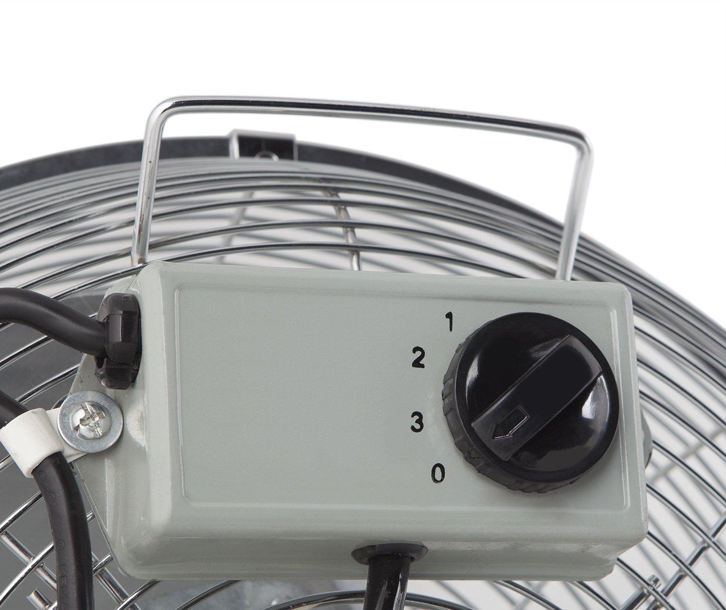 Ventilateur sur pied 130/W industriel Orbegozo 45/cm
