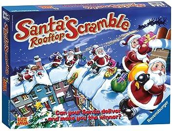 Ravensburger Santa's Rooftop Scramble Game