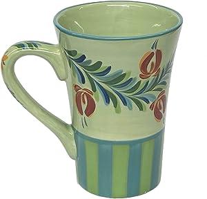 Gail Pittman Southern Living At Home Provence Hand Painted Cafe Mug 12 oz, 41020
