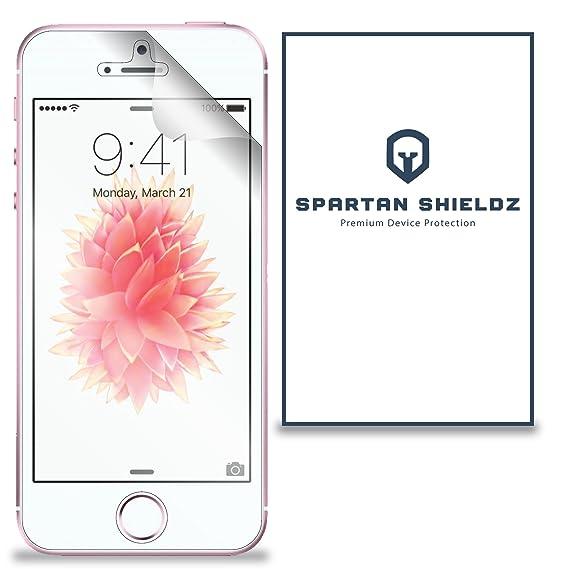 newest f6bdd f8d1b 6X - Spartan Shield Premium HD Screen Protector Cover For Apple iPhone SE -  6X