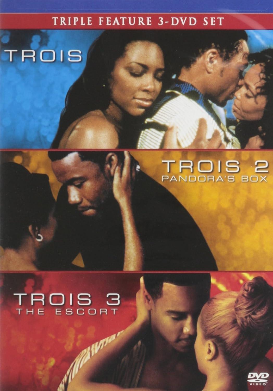 Trois, Trois 2: Pandora's Box, Trois 3: The Escort - Triple Feature 3 DVD  Set
