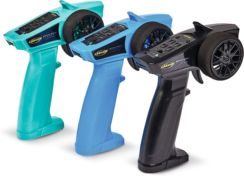 3 Channels Tamiya KIT Compatible Accessories Turquoise Carson 500500104 Reflex Wheel Start 2.4G Radio Receiver Model Making Remote Control