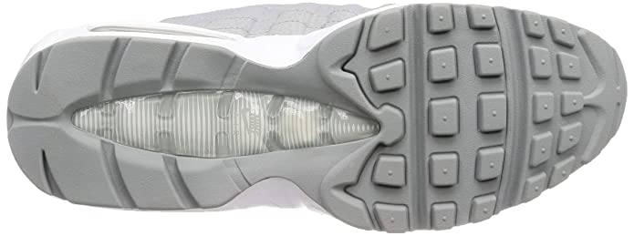 851388e2fc Amazon.com | Nike Men's Air Max 95 Essential, Wolf Grey/Wolf Grey-White,  8.5 M US | Shoes