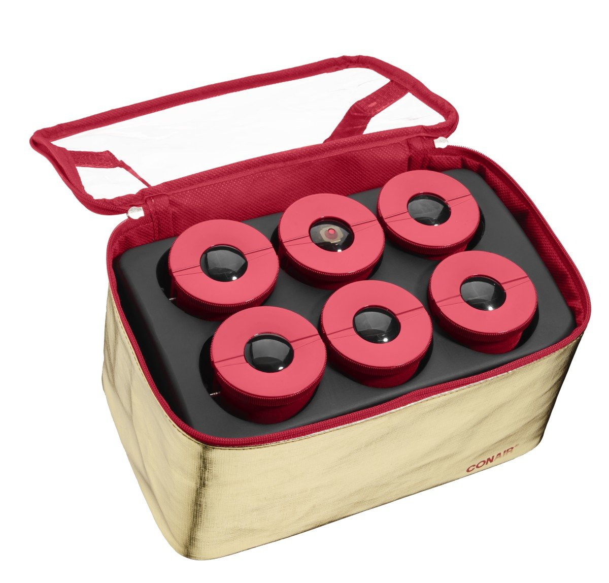 Infiniti Pro by Conair Lift & Volume Hot Rollers for Medium to Long Hair; Extra-Long 2-inch Hair Rollers