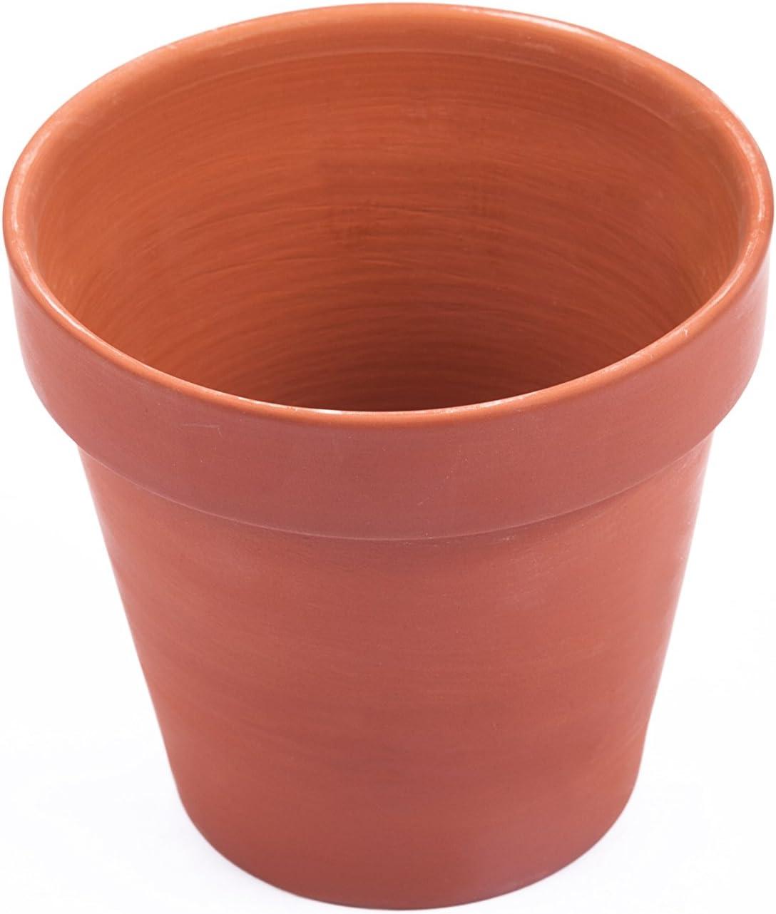 Mr. Garden Clay Pots 3-Inch,Terracotta Pot Clay Ceramic Pottery Planter Cactus Flower Pots Succulent Pot- Great for Plants,Crafts,Wedding Favor ,5Pack