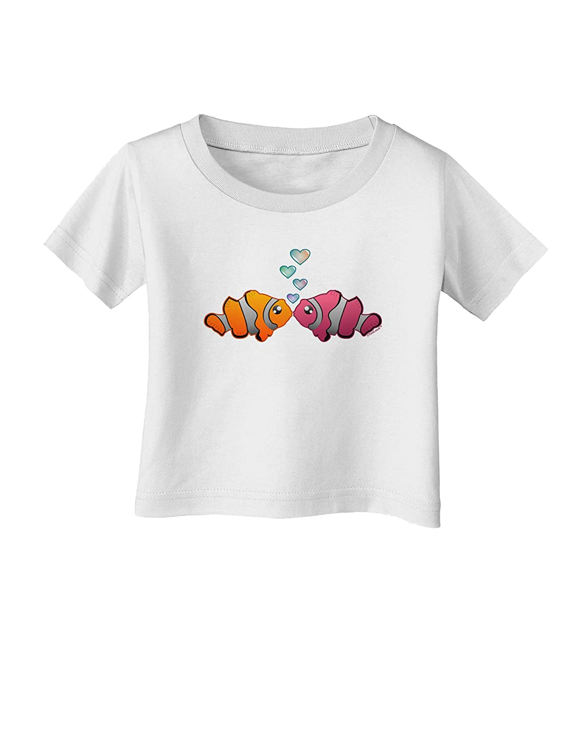 TooLoud Kissy Clownfish Infant T-Shirt