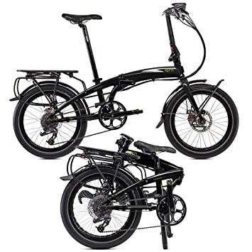 20pulgadas Vintage Bicicleta plegable para City Rad bicicleta plegable tern Verge s27h 2014con 27g SRAM
