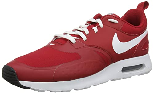 Nike Air Max Vision Mens Running Trainers 918230 Sneakers Shoes (UK 8.5 US 9.5 EU 43, Gym red White Black 600)