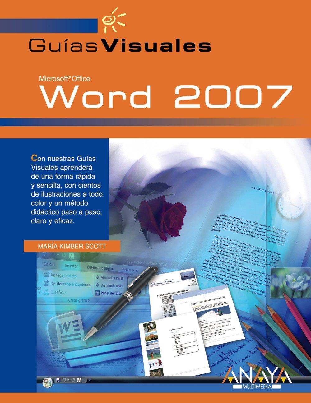 Download Word 2007 (GUIAS VISUALES) (Guias Visuales/ Visual Guides) (Spanish Edition) pdf epub