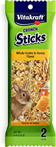 Vitakraft Rabbit Sticks And 4-Ounce Bag