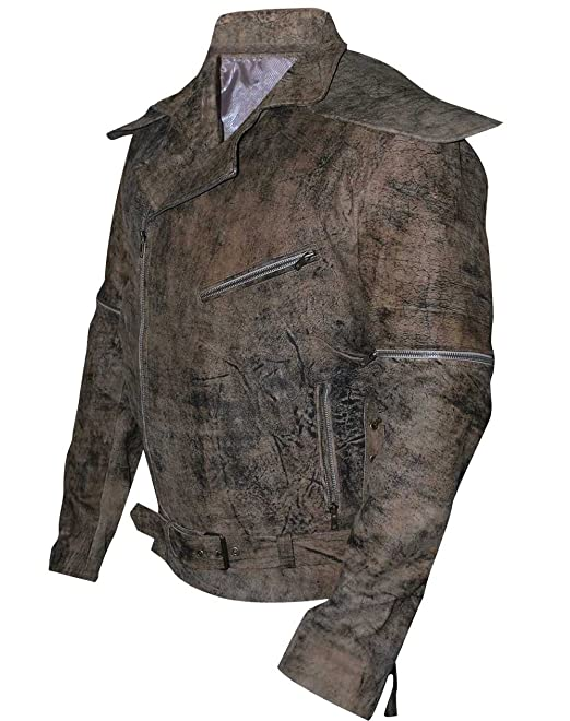 Mad Max Fury Road Tom Hardy Distressed Brown Jacket At Amazon ...