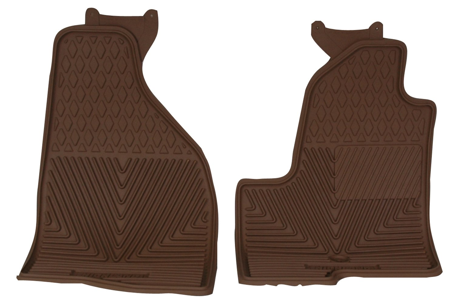 Highland 4602000 All-Weather Black Front Seat Floor Mat
