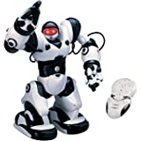Playtech Logic RoboActor Interactive Programmable RC Robot - Intelligent Walking Running Remote Control Robot 67 Pre-Programmed Functions - Humanoid Robosapien with Attitude - Infrared Remote Controlled