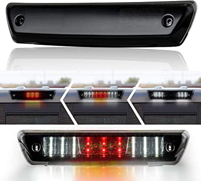 LED Smoke Rear 3rd Third Brake Tail Light Cargo Lamp For Ford F150 2009-2014 New