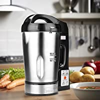 Hometech 1.6L Capacity Soup Maker Electric Jug Stainless Steel Blender Machine 800W