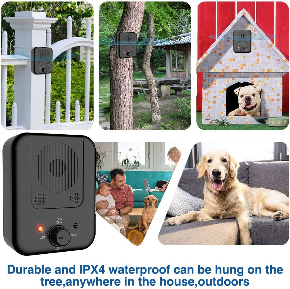 New Barking Device USB Rechargeable Sonic Barking Silencer Dog ...