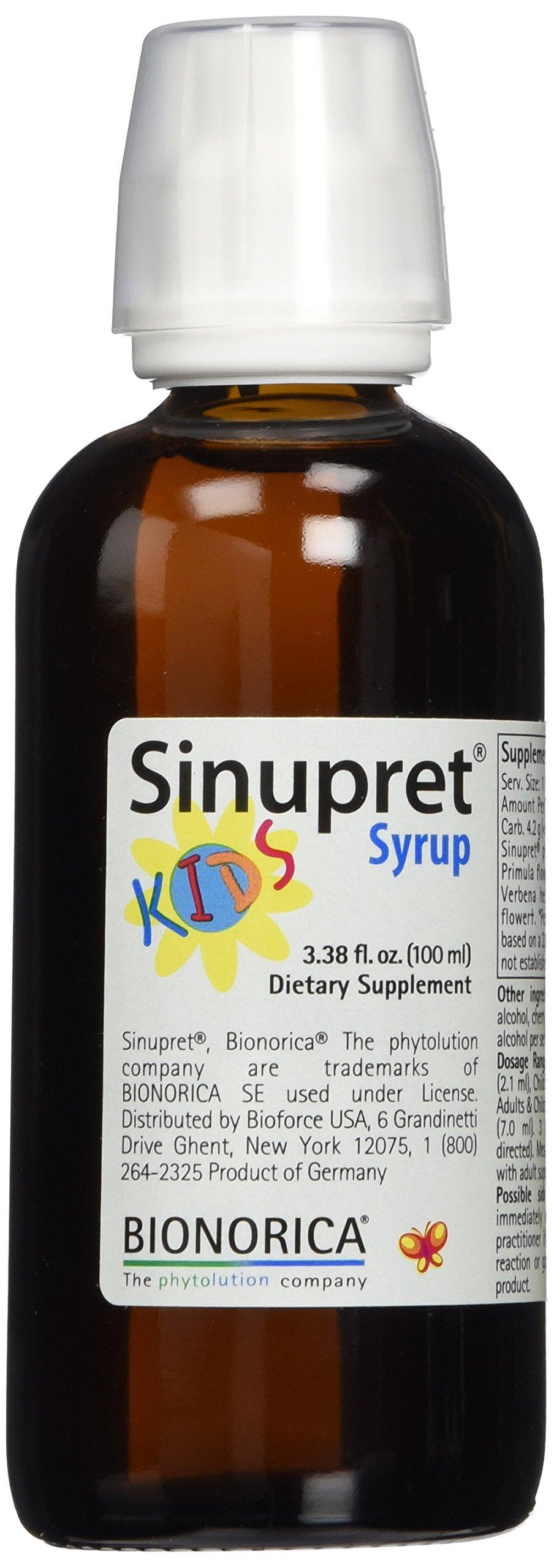 Sinupret Syrup for Kids 3.38 fl oz