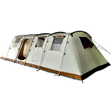Skandika Breathable Casablanca Unisex Outdoor Tunnel Tent available in Sand - 12 Persons  sc 1 st  Amazon UK & Skandika Breathable Casablanca Unisex Outdoor Tunnel Tent ...