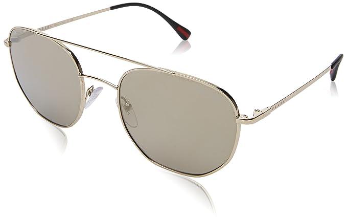 Prada Linea Rossa 0PS 56SS, Gafas de sol para Hombre, Pale ...