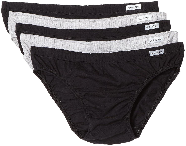 Pack of 5 Fruit of the Loom Mens  Bikini Briefs