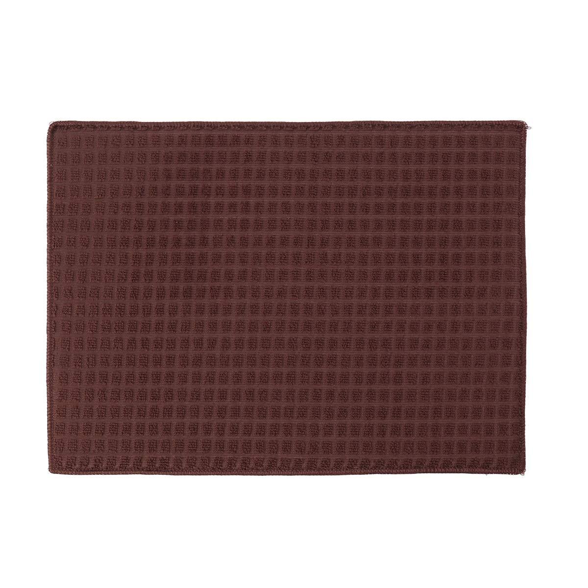 OUNONA 30 x 40 cm Premium Ultra feines Mikrofaser-Handtuch Reinigungstuch für Küche Schmutzreinigung (Kaffee), 7, 34